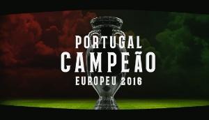 PORTUGAL CAMPEÃO EUROPEU 2016