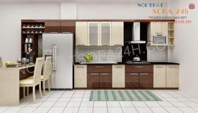 Tủ bếp TB018