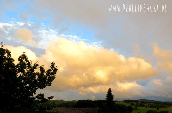 Hessische Rhön Rhoen Sand Wolken | Foodblog rehlein backt
