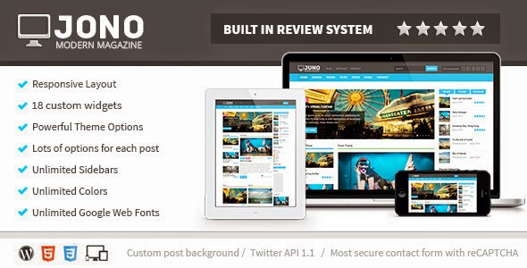 Jono - Responsive WordPress Magazine Theme
