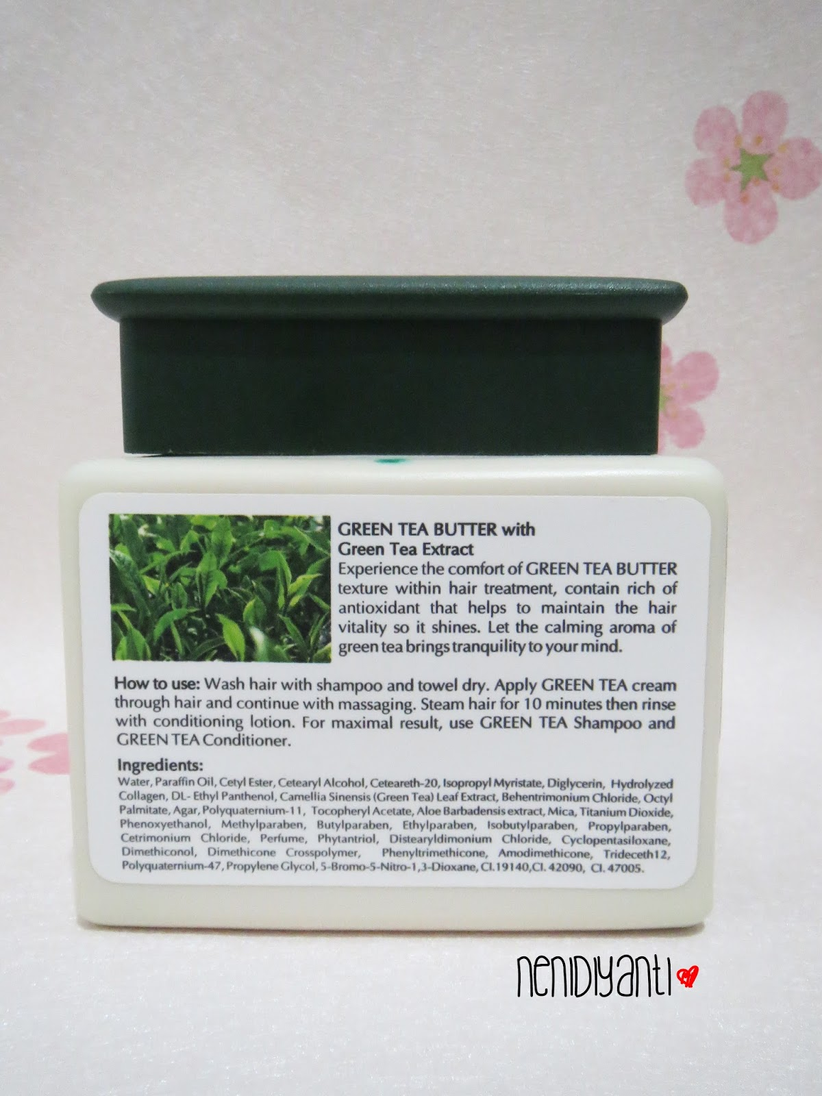 Kawaii Fuku Makarizo Hair Texture Experience Green Tea Butter Shampoo 250ml You Can Read The Instruction How To Use And Ingredients In Photo Above Text Is Also Written Bahasa As See Previous
