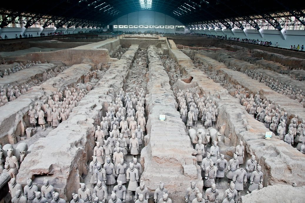 terracotta warrior china