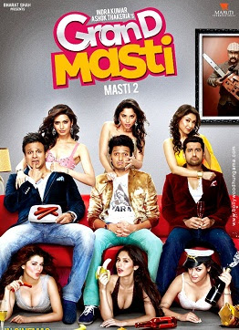 Grand Masti (2013) (Audio Cleaned) DVDScr XviD 1CDRip Full Movie Live