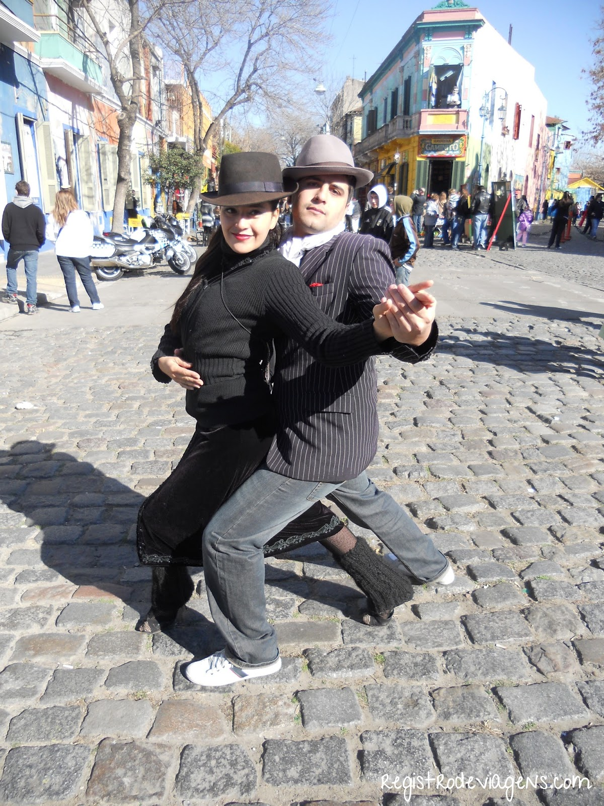Registro de Viagens: Buenos Aires: Passeando pelo Caminito