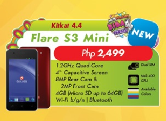 Cherry Mobile Flare S3 Mini vs MyPhone Rio 2 Lite