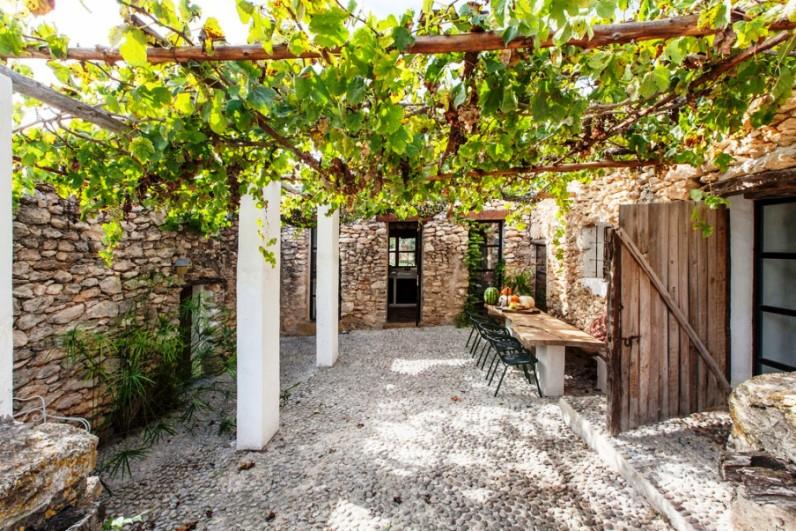 casa de campo rustica en Ibiza