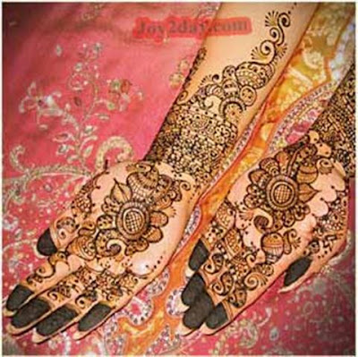 arabic mehndi simple designs