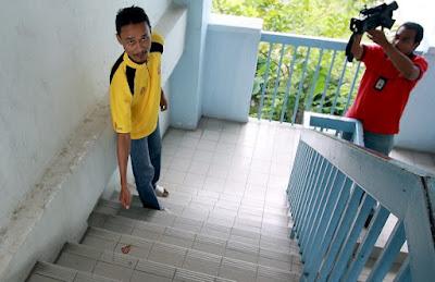Janin ditemui di tangga kuarters KLIA
