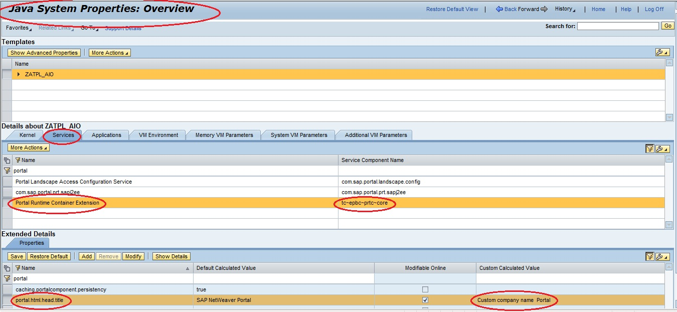 Step by Step How to Change Title of  the SAP Enterprise Portal onlysapep.blogspot.in only sap ep  blogspot