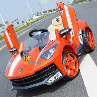 Xe ô tô điện cho bé yêu Lamborghini 8188