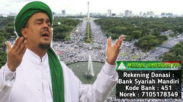 "Rekening Donasi ""Mozaik Harokah FPI"""