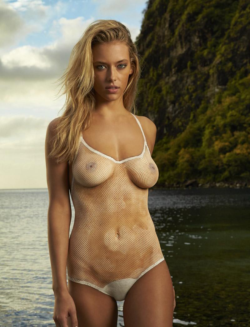 Bikini body painting foto