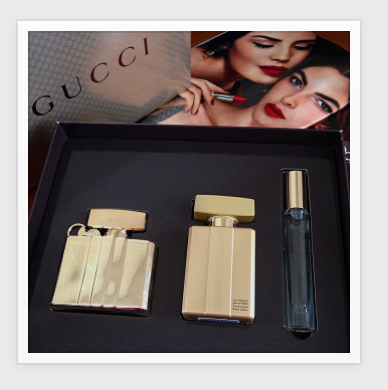 #Gucci #ninasstyle blog #perfume #makeup #giftset #beauty blogger
