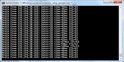 Koneksi Jaringan Speedy Terputus? Request Timed Out (RTO), Kenapa?