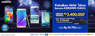 Kebaikan Akhir Tahun Bersama Samsung Galaxy di BliBli