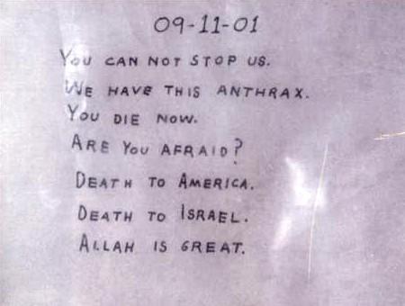 Truthjihad Blog Pushing The Anthrax Envelope Barry