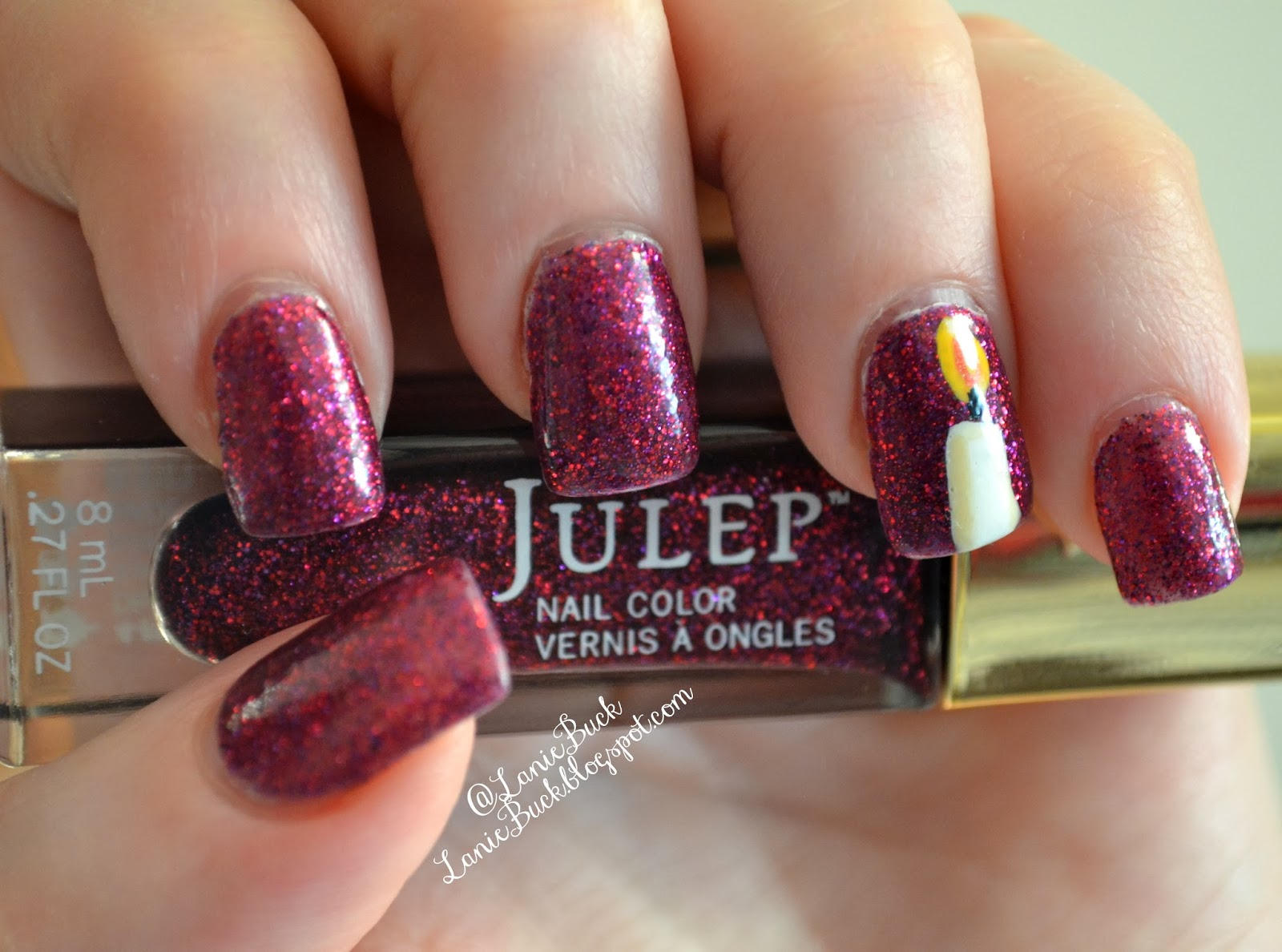 New Polish- Betty by Julep Garnet for January
