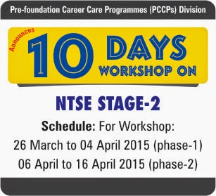 NTSE Stage-2 Workshop