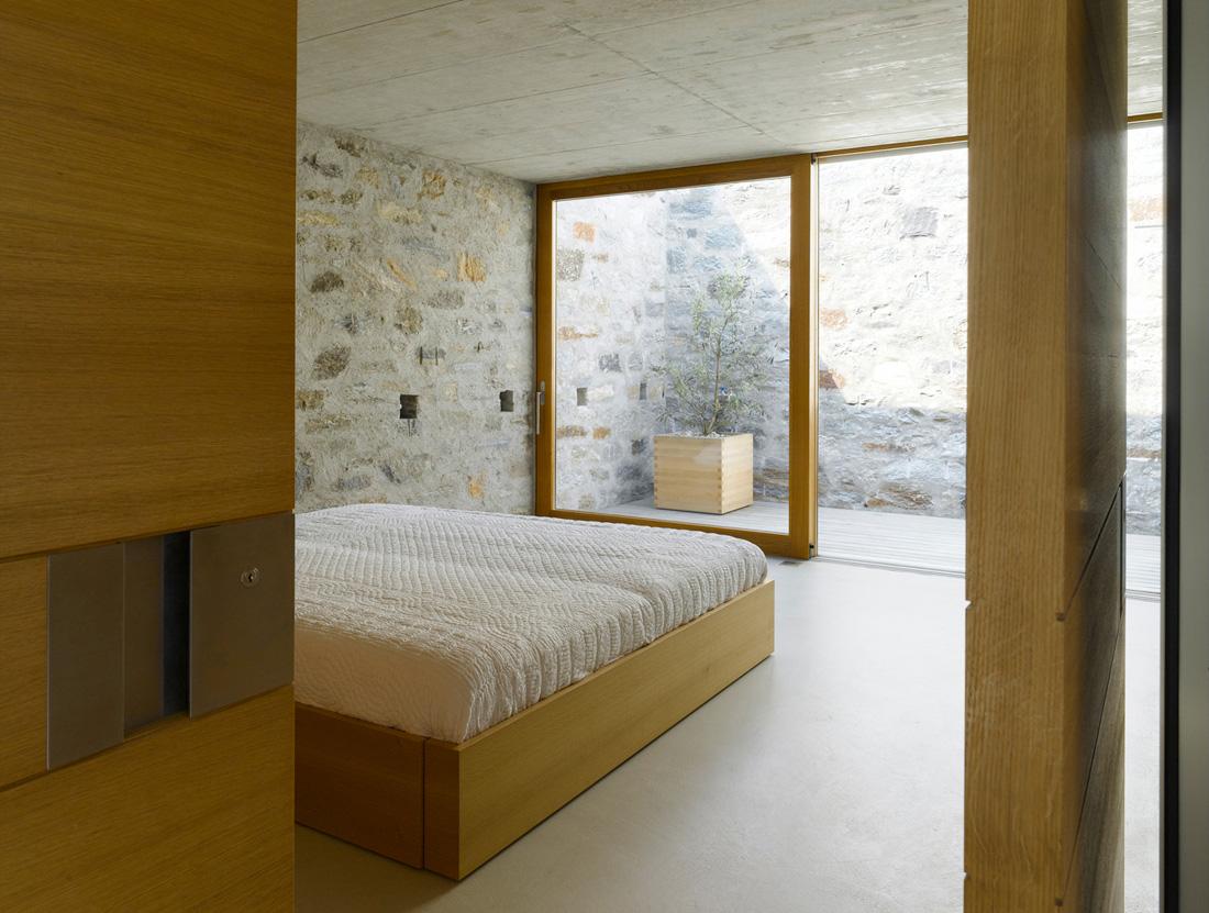 Swiss Stone House Modern Design By Moderndesignorg - Swiss home design