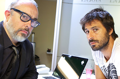 Alex de la Iglesia y Hugo Silva - Vodafone Madrid