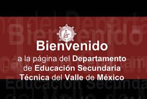 Departamento de Educación Secundaria Técnica del Valle de México