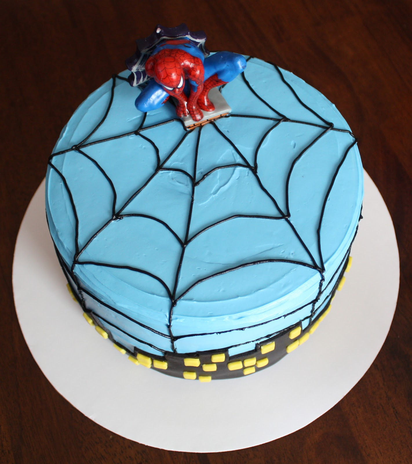 Straight to Cake: Spiderman 4th Birthday