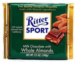 Save on Ritter Sports Chocolate Bars