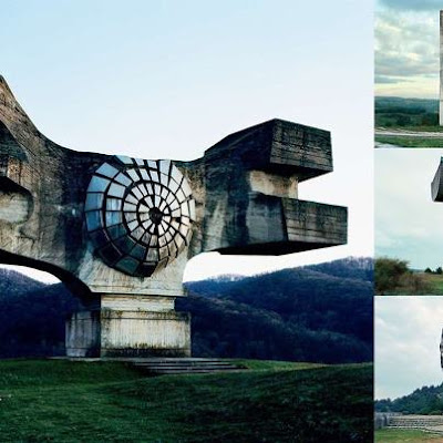 ABANDONED YUGOSLAVIA MONUMENTS THAT LOOK LIKE THEY'RE FROM THE FUTURE