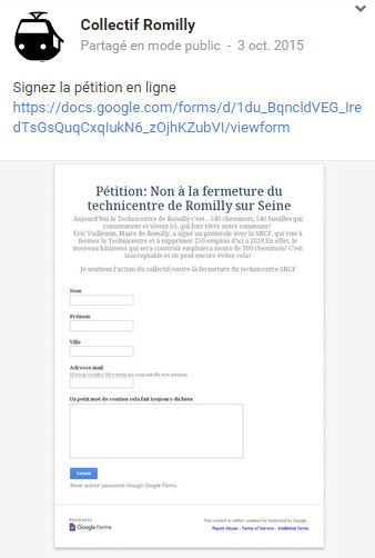 Romilly sur seine romi scope un collectif et une p tition for Action romilly