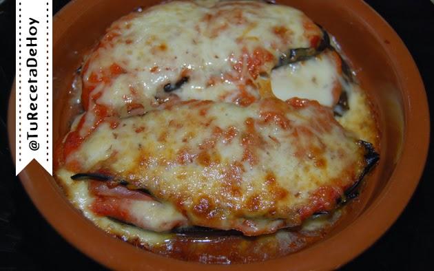 Receta de Berenjenas a la parmesana (Parmigiana di melanzane) - Receta vegetariana