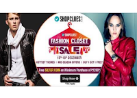 Buy 1 Get 1 Free  on All  Categories Via shopclues :Butoearn