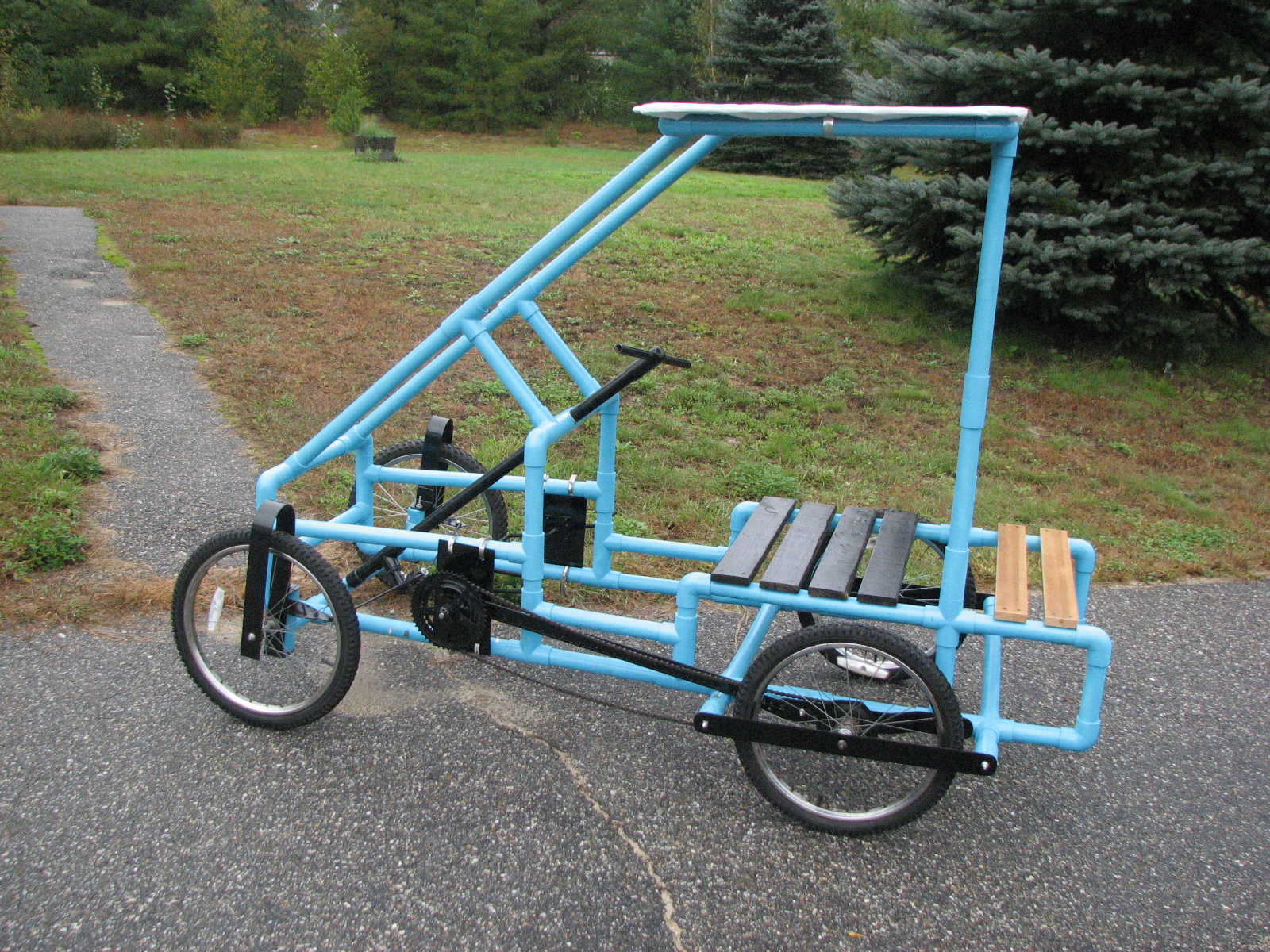 Pvc pedal car plans 1000 images about cycle ideas on for Pvc car