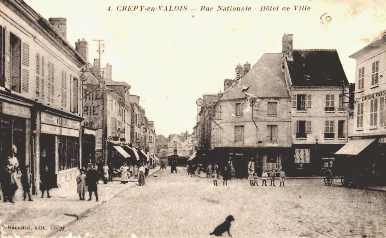 Cr py en valois en 1914 for Garage crepy en valois