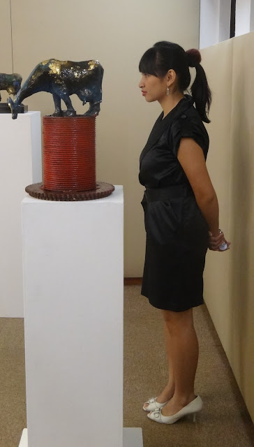 Incarnation exhibition opening at Utama Galeri Singapore