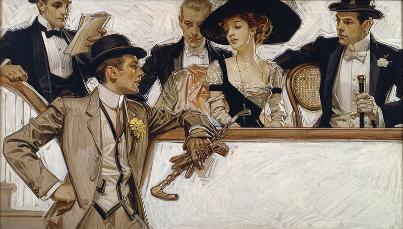 JC Leyendecker illustration