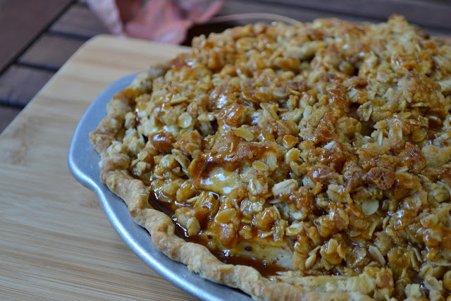Apple Pie with Bourbon Salted Caramel Recipe