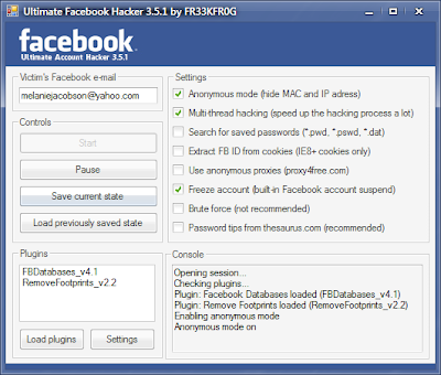 Facebook Account Hacking Softwares