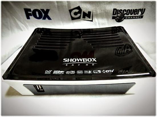 SHOWBOX SAT HD EM MEGABOX - ATUALIZAÇÃO 30/07/2015