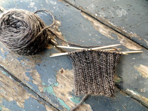 winter knitting defined
