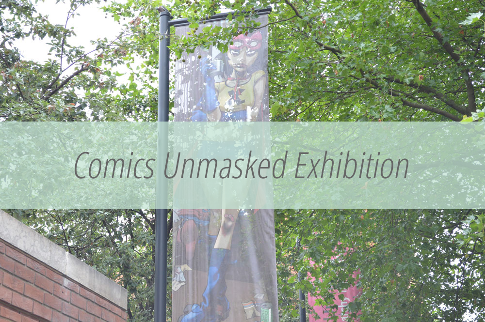 Comics exhibition in London