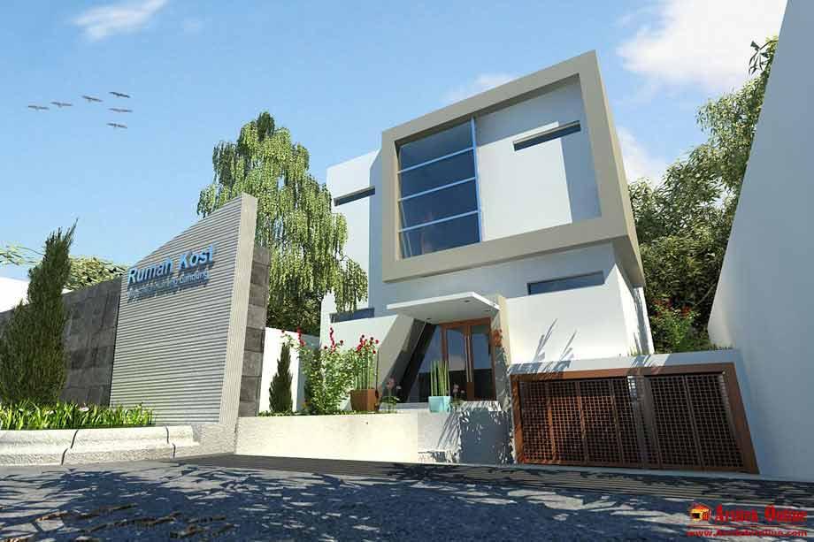gambar rumah modern rumah minimalis
