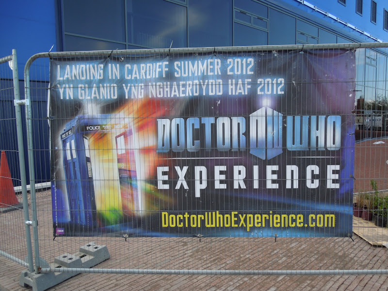 Doctor Who Experience building site