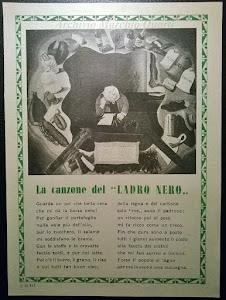 """LA CANZONE """"DEL LADRO NERO"""""""