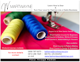 Learn How to Sew & Turn Your Love for Fashion into a Viable Business