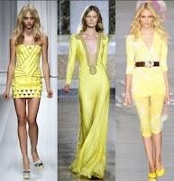 Colore giallo per la moda estate 2015