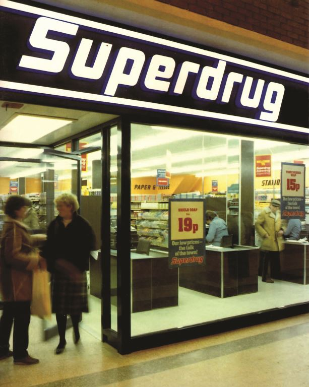 Superdrug in the 1980s