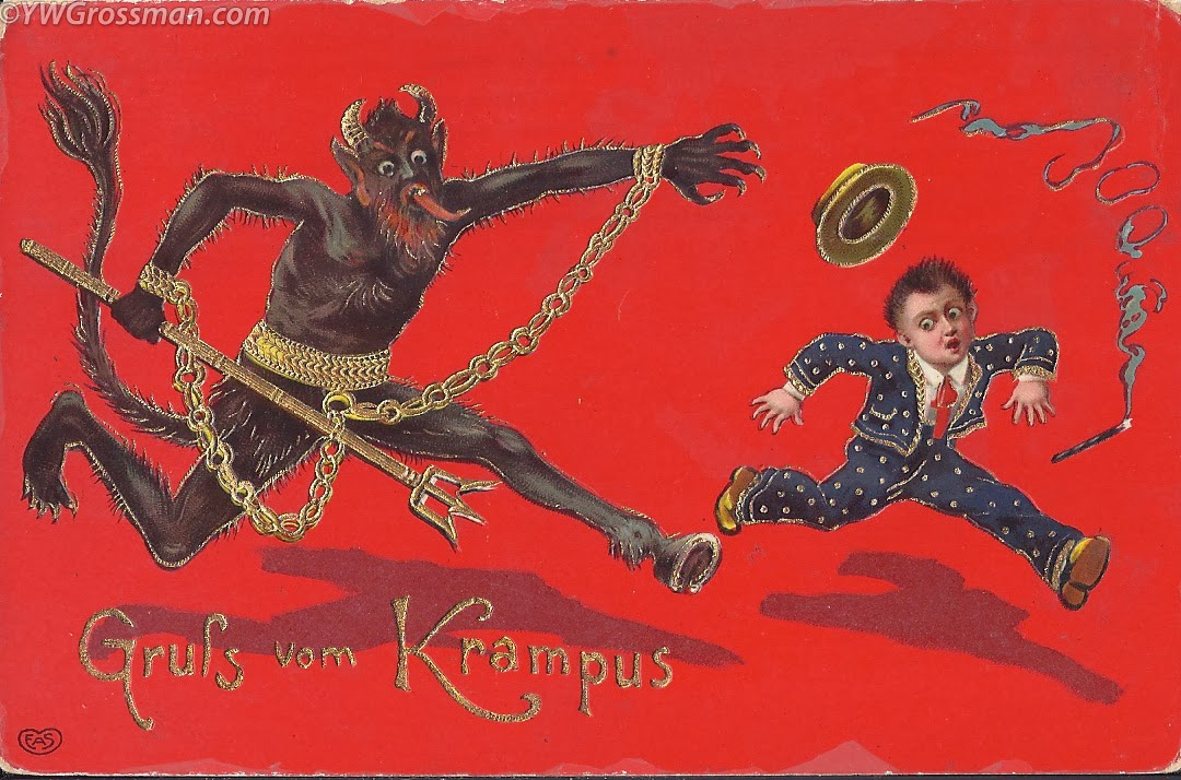 The Carpetbagger Put The Krampus Back In Christmas