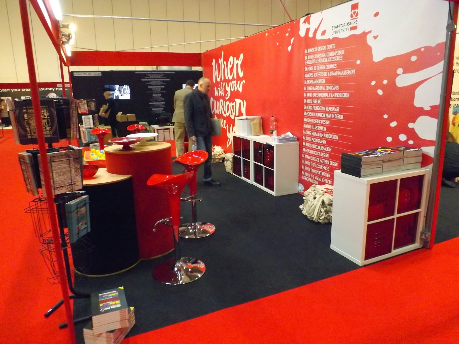 Our Lovely New UCAS Stand Was Taken To London This Week Come And See Us In Manchester On 24th 25th Novemberhave A Dip The Ball Pit Of