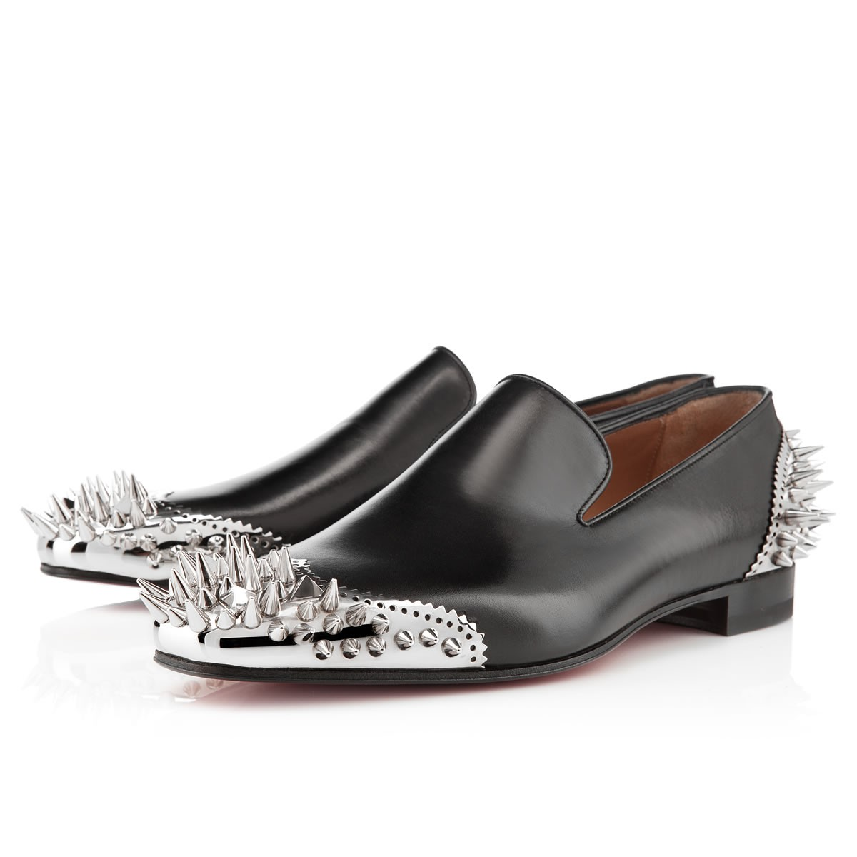 677a794ba508 ... toe  Henri Flat  – despite carrying a price tag 40% much more than the  full-on spiked-out version. This is one serious extravagant pair of  Louboutins.