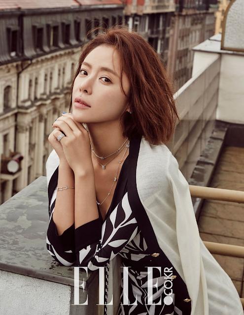 Actress, Singer, @ Hwang Jung Eum - Elle Korea, January 2016